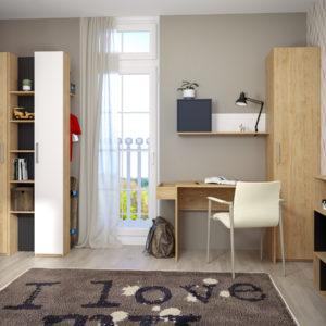 Спальня для детей и подростков Гравити №2