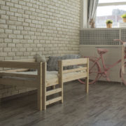 Детская деревянная кровать Тедди фото-1