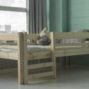 Детская деревянная кровать Тедди фото-2