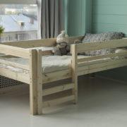 Детская деревянная кровать Тедди фото-3