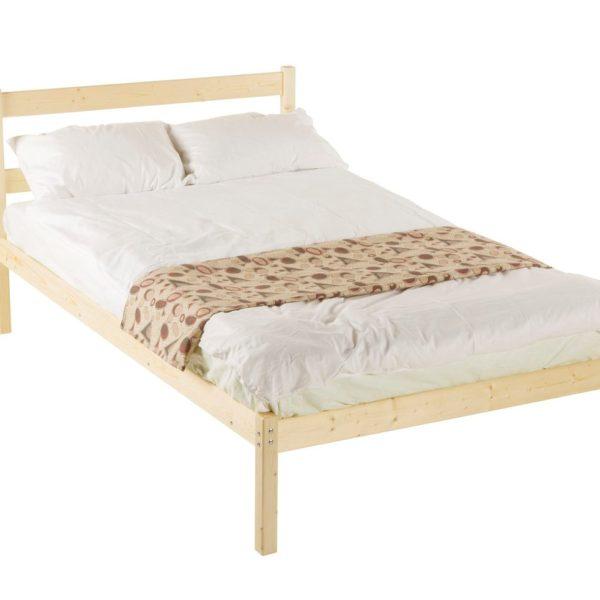 Двуспальная кровать одноярусная