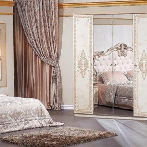 Гарнитур мебели для спальни Аманда (корень дуба-орех фарина)