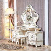 Гарнитур мебели для спальни Медея (крем) туалетный стол