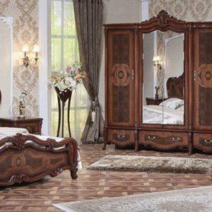 Гарнитур мебели для спальни Виктория (фарина орех)