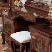 Гарнитур мебели для спальни Виктория (фарина орех) пуф