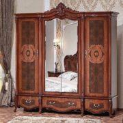 Гарнитур мебели для спальни Виктория (фарина орех) шкаф 4дв