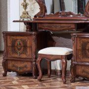 Гарнитур мебели для спальни Виктория (фарина орех) тумба туалетного стола