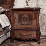 Гарнитур мебели для спальни Виктория (фарина орех) тумбочка