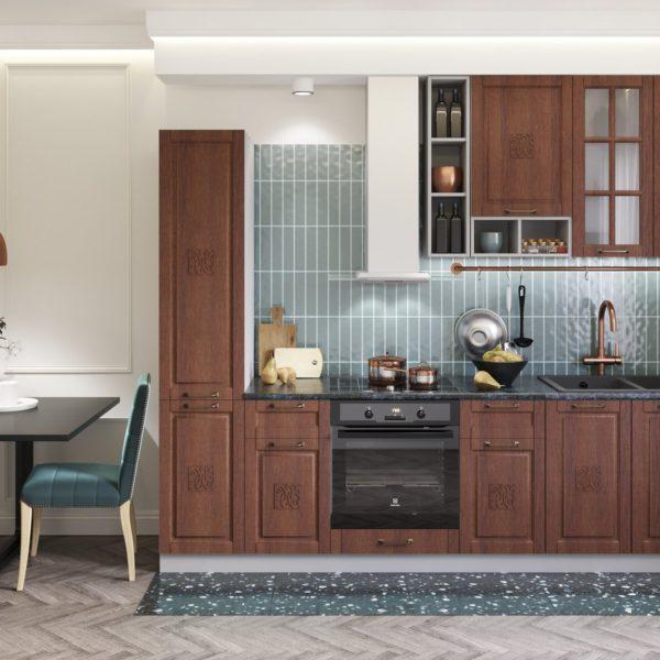 Модульный кухонный гарнитур «Опера» 2800 (Палермо)