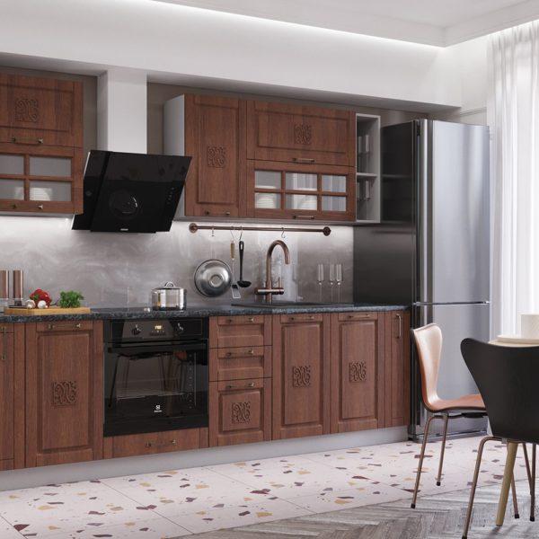 Модульный кухонный гарнитур «Опера» 3.0 (Палермо)