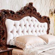 Набор мебели для спальни «Аделаида» кровать фото изголовья