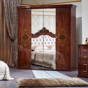 Набор мебели для спальни «Аделаида» шкаф 4дв.