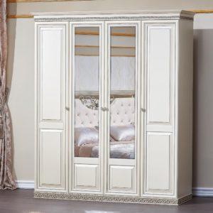 Набор мебели для спальни «Берта» шкаф 4дв