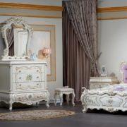 Набор мебели для спальни «Шанель» комод с зеркалом