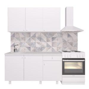 Кухня ПОИНТ (POINT) 150 Белый