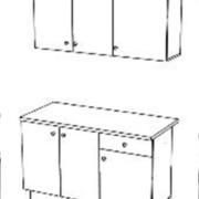 Кухня ПОИНТ (POINT) 150 схема