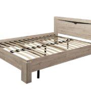 Спальный гарнитур Соренто кровать 140 Дуб бонифаций ортопед