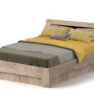 Спальный гарнитур Соренто кровать 160 Дуб бонифаций с коробом