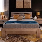 Спальный гарнитур Соренто кровать Дуб стирлинг