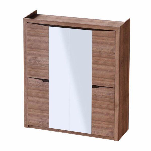 Спальный гарнитур Соренто шкаф 4дв Дуб стирлинг