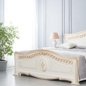 Кровать Азалия белая 180х200