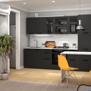 Кухня Монс 2.8 графит