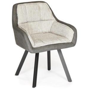 Кресло «Vista» (mod. DС5067 L) (бежевыйчерный)
