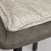 Кресло «Vista» (mod. DС5067 L) (бежевыйчерный) фото-4