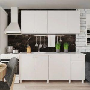 Кухня ПОИНТ (POINT) 180 Белый